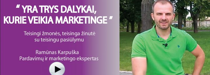Marketingas ir pardavimai