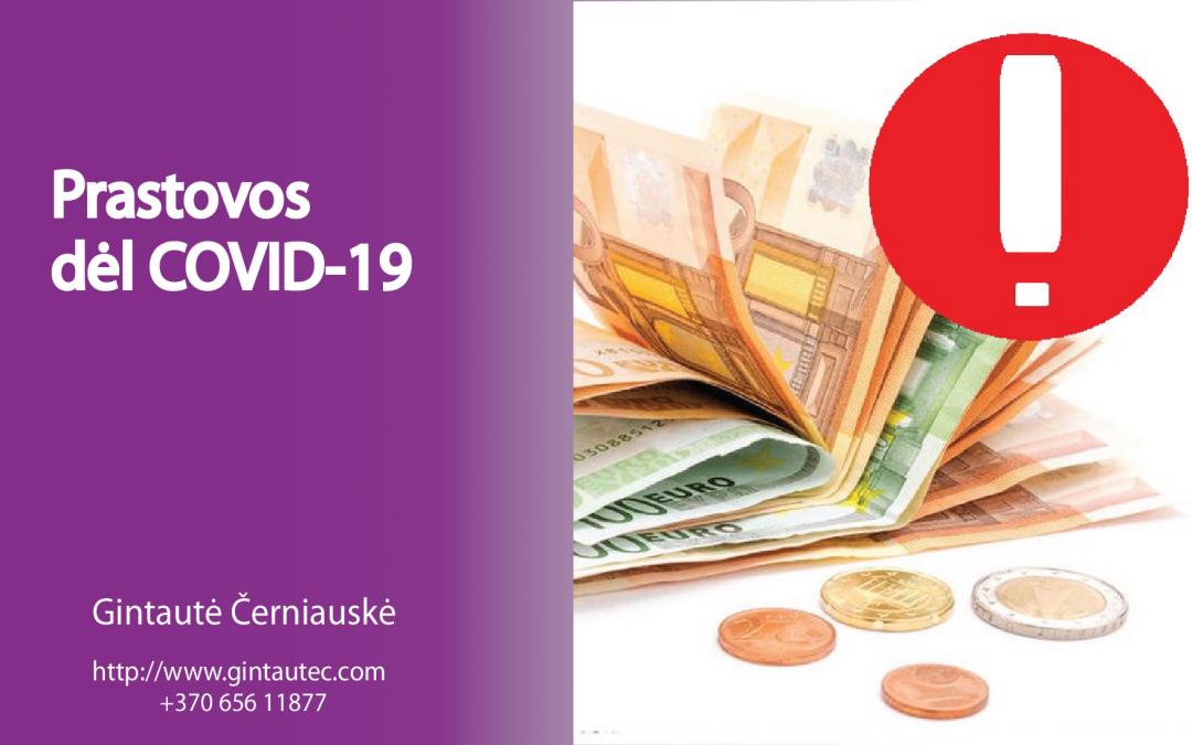 #108  Prastovos Lietuvoje COVID-19 _ PAGALBA VERSLUI COVID-19